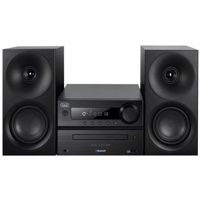SISTEMA HIFI CD MP3 USB BLUETOOTH TREVI HCX 1080 BT NERO