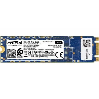 HD SSD 2.5 500 GB Crucial MX500